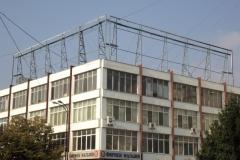 Рекламна конструкция, завод Елкабел Бургас